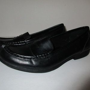 1d58d2aedc9 Born Shoes - Born Womens Penny Loafers Size 7M Black Vegan